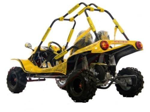 fapinha - mini buggy cross dream amarelo