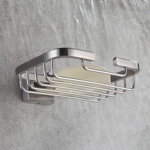 fapully jabón plato de acero acero baño & cocina ducha jab