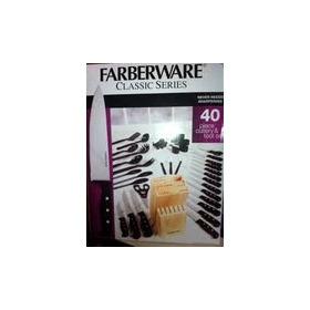 Faqueiro Em Aco Carbono Com 40 Pecas Faberware