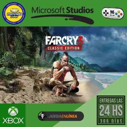 Far Cry 3 Classic Edition Xbox One Modo Local 2 900 En Mercado Libre