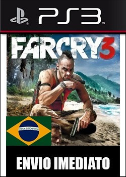 far cry 3 portugues ps3 psn - midia digital