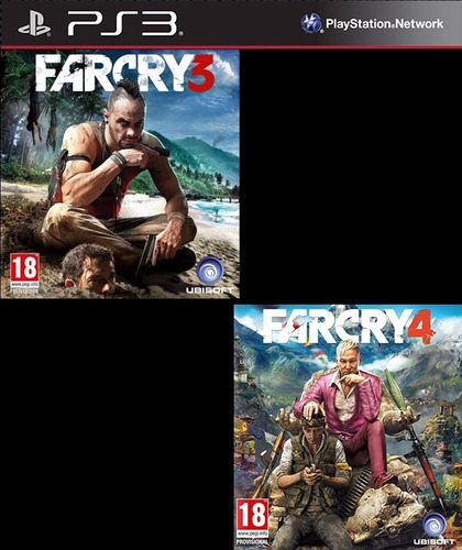 far cry 3 y 4 ps3 digital