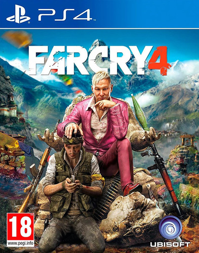 far cry 4 / juego físico / ps4