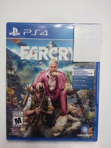 far cry 4.-ps4