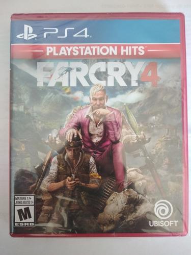 far cry 4 ps4 juego fisico sellado playstation 4 original