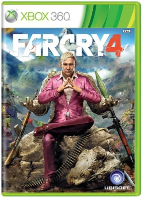 Far Cry 4 Xbox 360 Original R 120 00 Em Mercado Livre