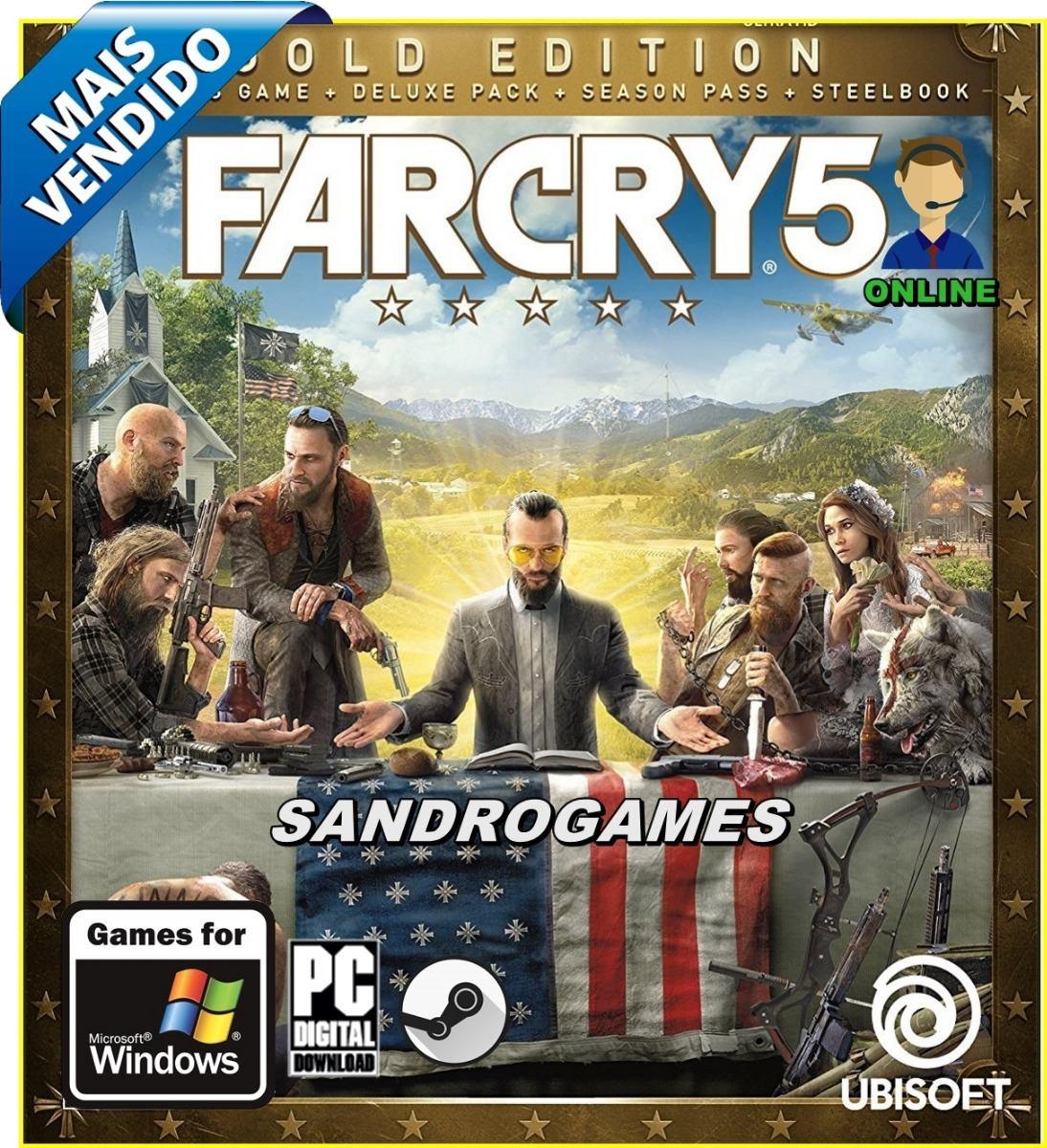 Far Cry 5 Pc Original Mídia Digital