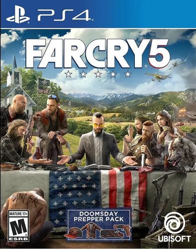 far cry 5 ps4 juego nuevo físico sellado subtitulado español