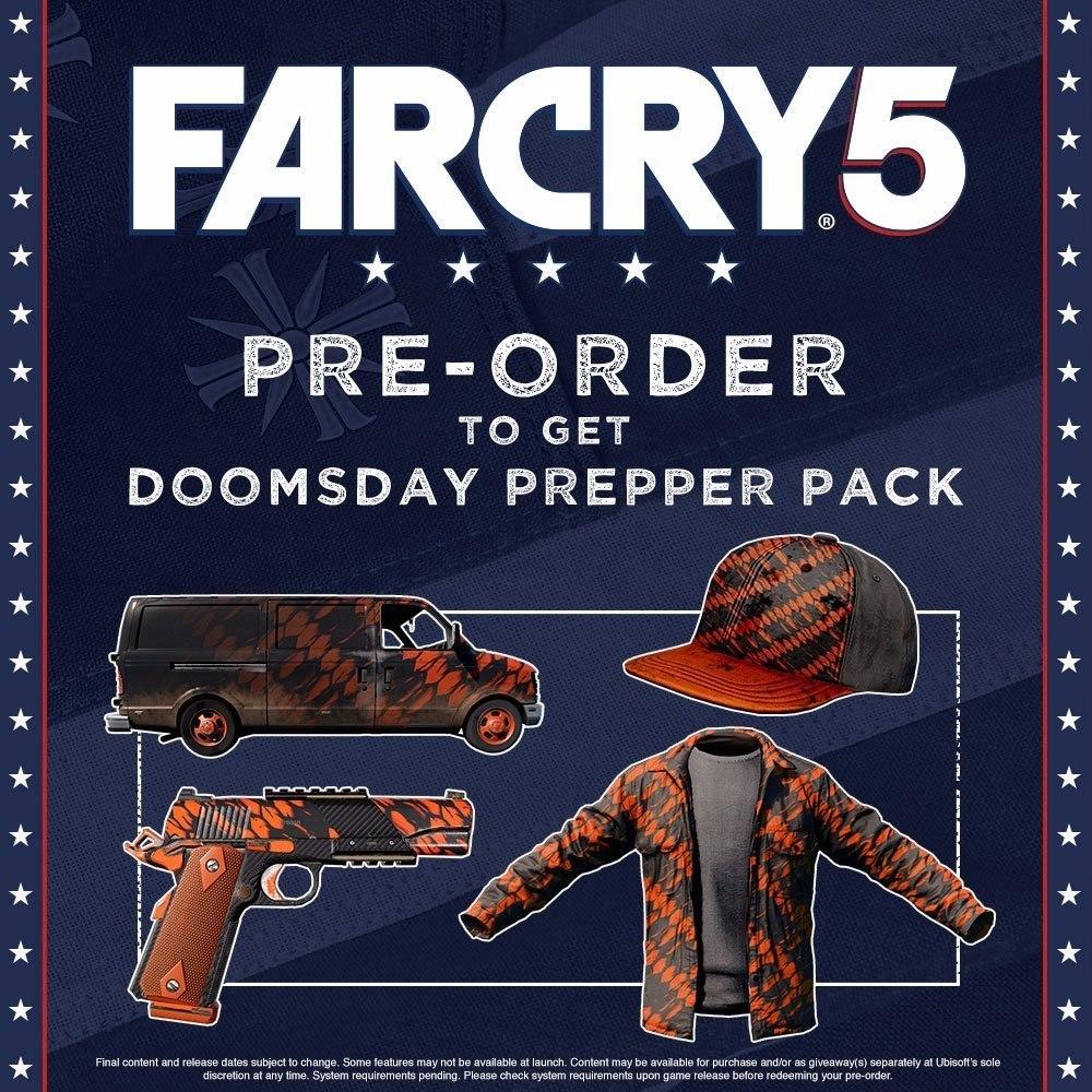 Far Cry 5 //xbox One // Digital Code // Flynn´s