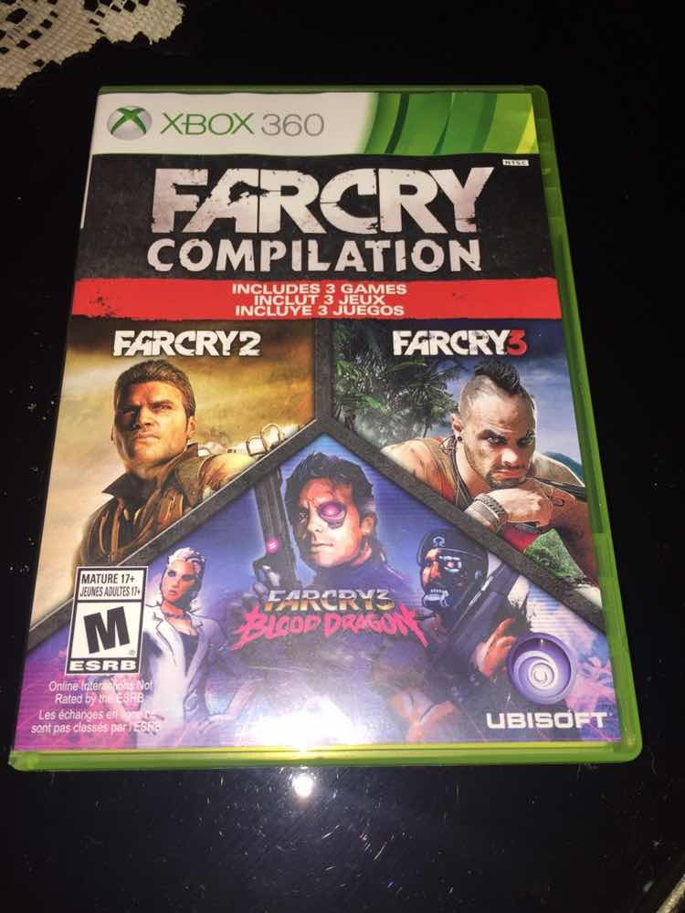 Far Cry Compilation Xbox 360 1 200 00 En Mercado Libre