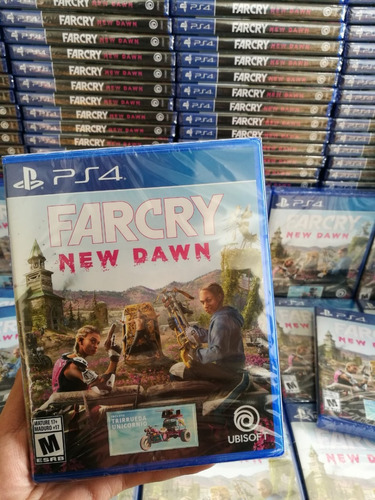 far cry new dawn ps4 cd físico sellado español latino full