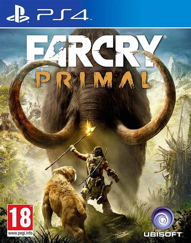 far cry primal / juego físico / ps4