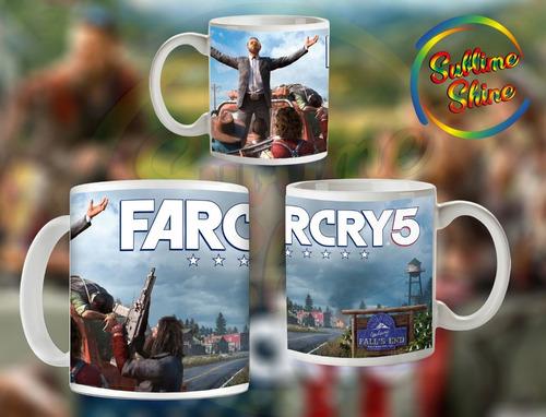 far cry5 tazas importadas gamer