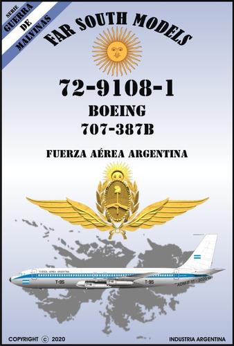 far south models 1/72 72-9108-1 boeing 707-387b