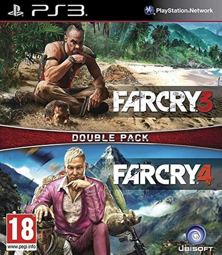 farcry 3 & 4 doble pack ps3 digital