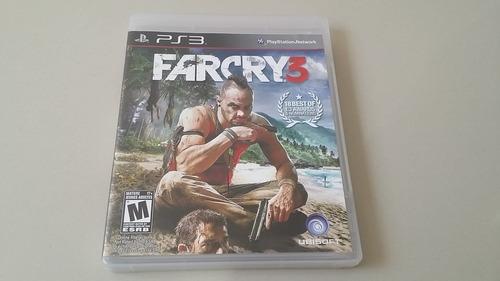 farcry 3 fisico original playstation 3, ps3