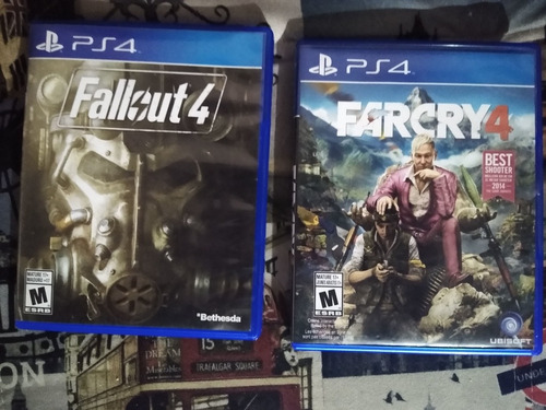 farcry 4 y fallout 4 ps4