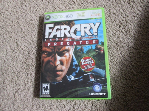 farcry instincts predator xbox 360 envio gratis