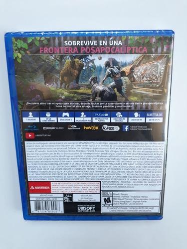 farcry new dawn juego ps4 nuevo y sellado en español