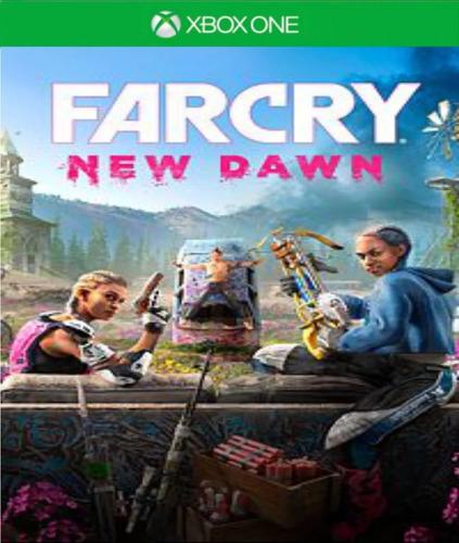 farcry new dawn - xbox one midia fisica + frete grátis