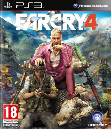 farcry4 ps3 digital original far cry 4 ps3 entrega inmediata