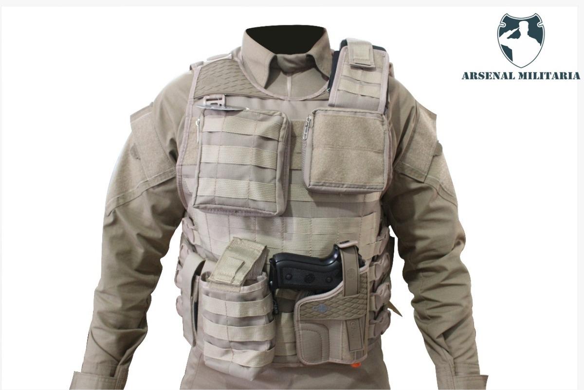 farda combat shirt multicam + colete molle caqui airsoft. Carregando zoom. 36910380147f1