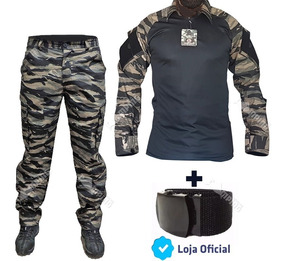 156b3c84ce Fardas Militares Preta Feminina - Calças com o Melhores Preços no ...