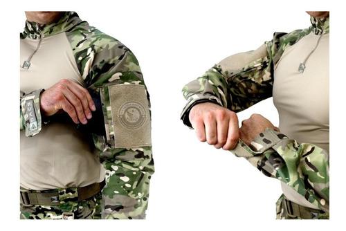 farda militar uniforme tático hrt multicam dacs original top
