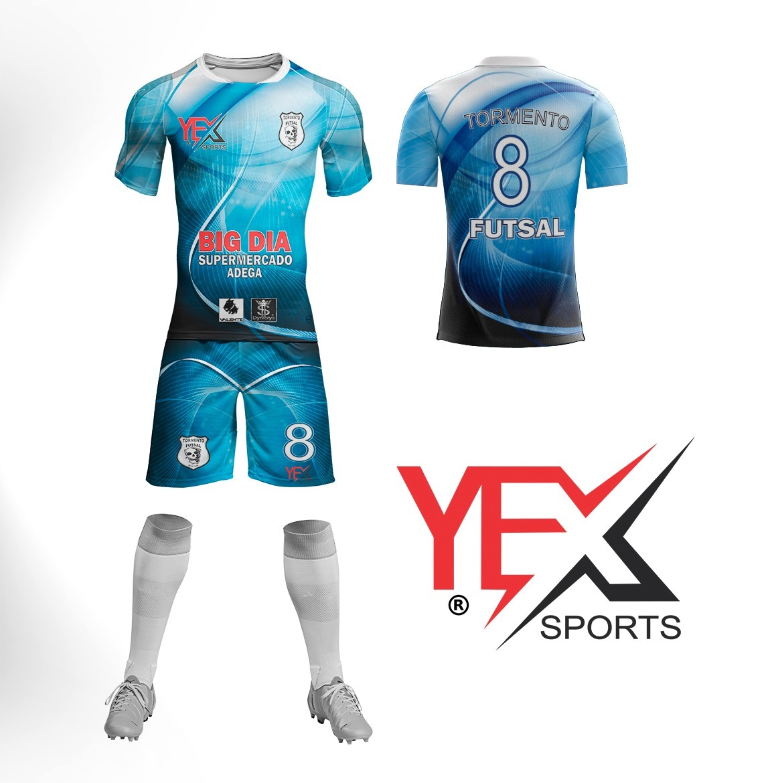 d941e888ca6a0 fardamento esportivo da marca yex sports. Carregando zoom.