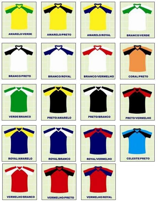 Fardamento camisas De Futebol   Modelo Básico   Tamanho G - R  583 ... 8298f649bf069