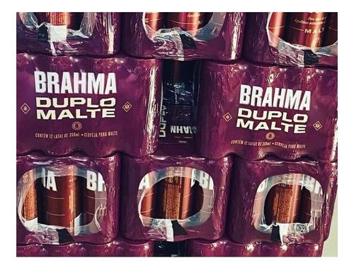fardo brahma puro malte 12 unidades 350 ml
