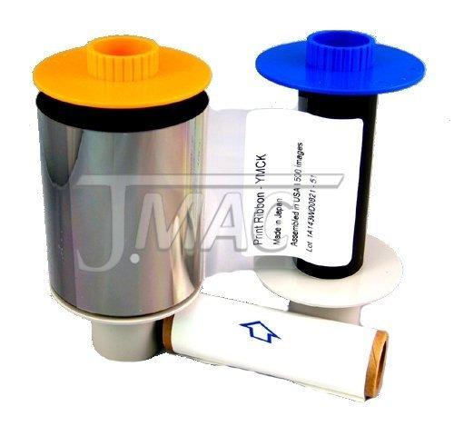 fargo 84051 hdp color ribbon para hdp5000 / hdpii