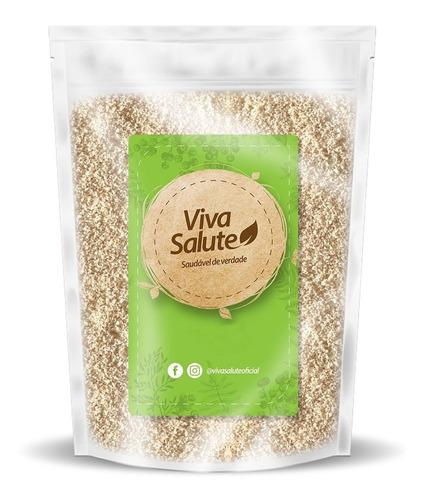 farinha de amêndoas fina pura viva salute - 1kg