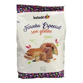 Farinha Especial De Arroz Sem Glúten 1kg Beladri