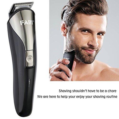 farione kit de barbero para los hombres, máquinas de corta