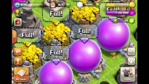 farm de clsh of clans x30 disa - 16millones por dia