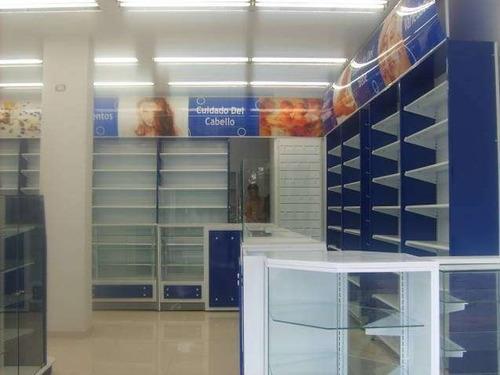 farmacia - botica  vitrinas exhibidores