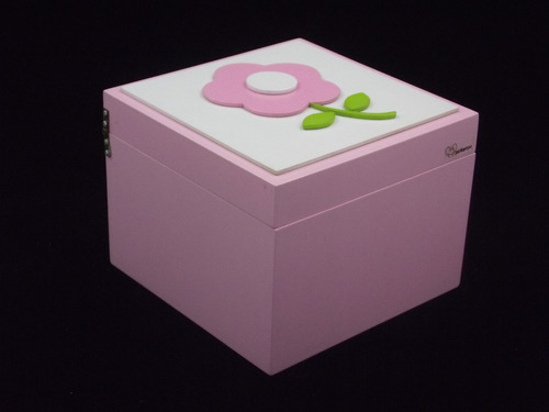 farmacinha menina porta-treco caixa mdf porta remédio