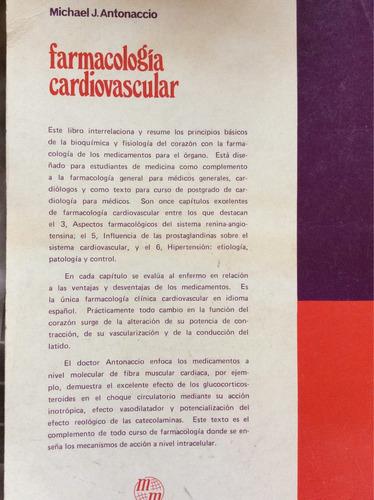 farmacología cardiovascular - michael j antonaccio