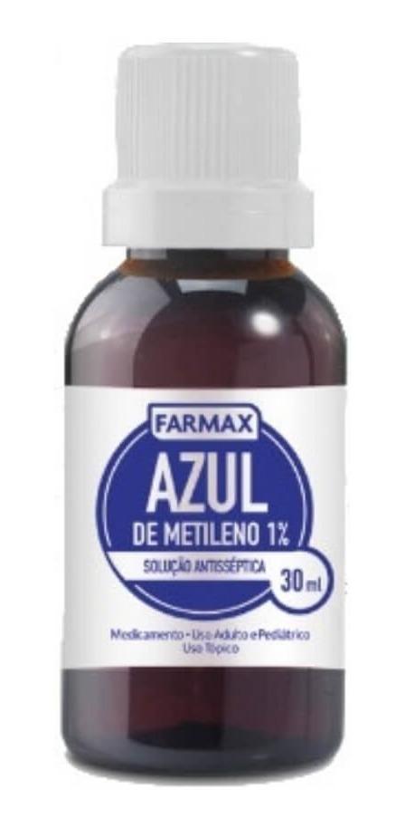 3afb35998 Farmax Azul De Metileno 30ml - R$ 11,22 em Mercado Livre