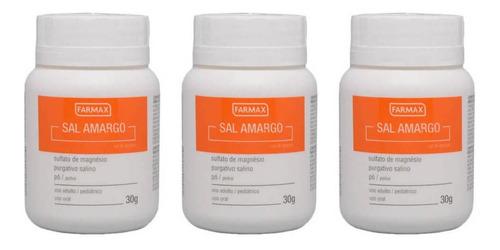 farmax salamargo em pó 30g (kit c/03)