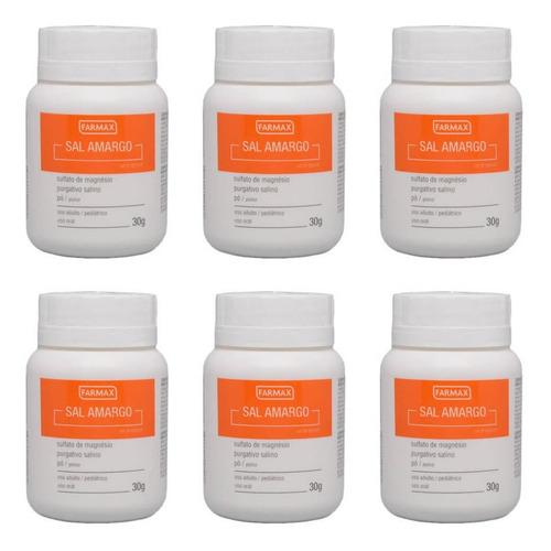 farmax salamargo em pó 30g (kit c/06)