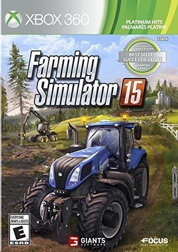 farming simulator 15 éxitos de platino - xbox 360