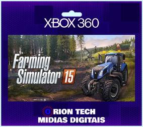 Farming Simulator 15 Xbox 360 Original-( Mídia Digital)
