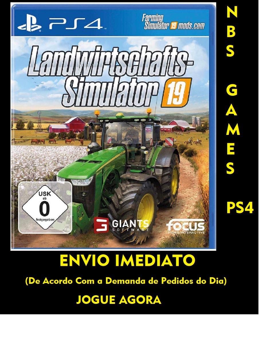 Farming Simulator 19 2019 Pt-br Ps4 1 - Jogue Agora !!