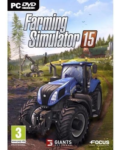 farming simulator 2015 em português +dlcs frete grátis