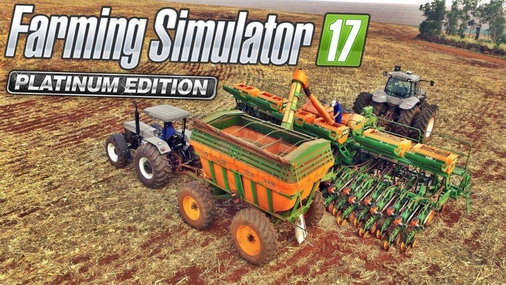 Farming Simulator 2017 Platinum Edition Pc - Português
