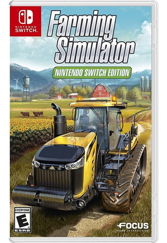 farming simulator - switch  mídia física lacrado