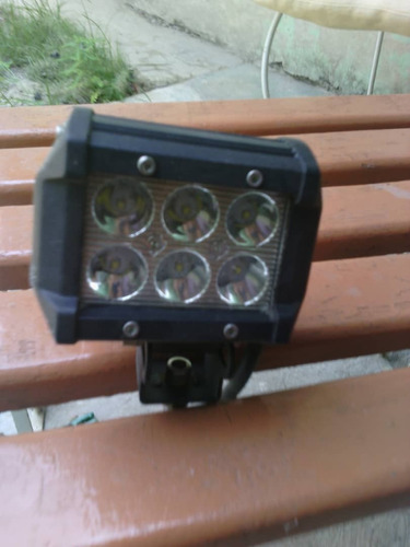 faro 4 pulgadas 6 luces led. cuadrada