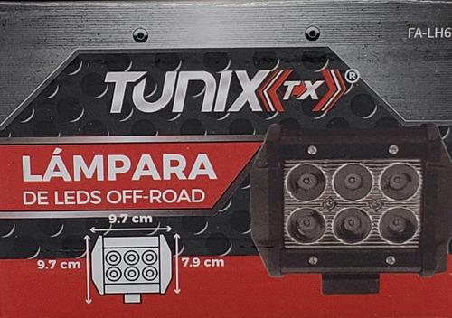 faro 6 hiper led auxiliardually 18w para coche, moto, lancha